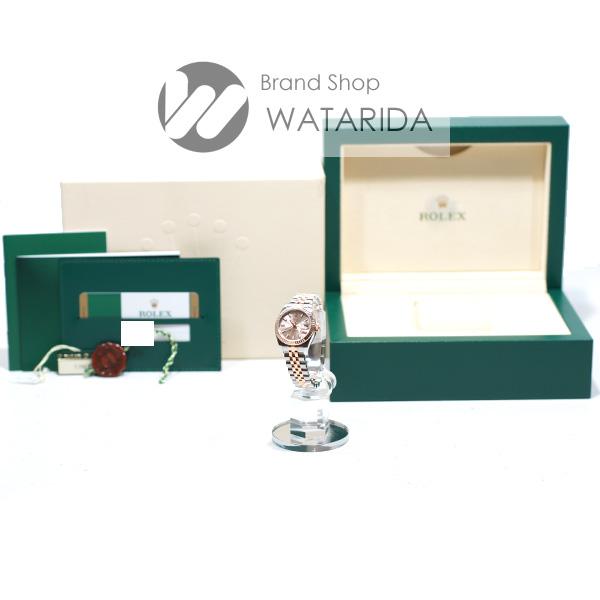 川崎の質屋【渡田質店】ロレックス 腕時計 デイトジャスト Ref.179171 SS PG ピンク文字盤 箱・保付 【送料無料】のご紹介です。
