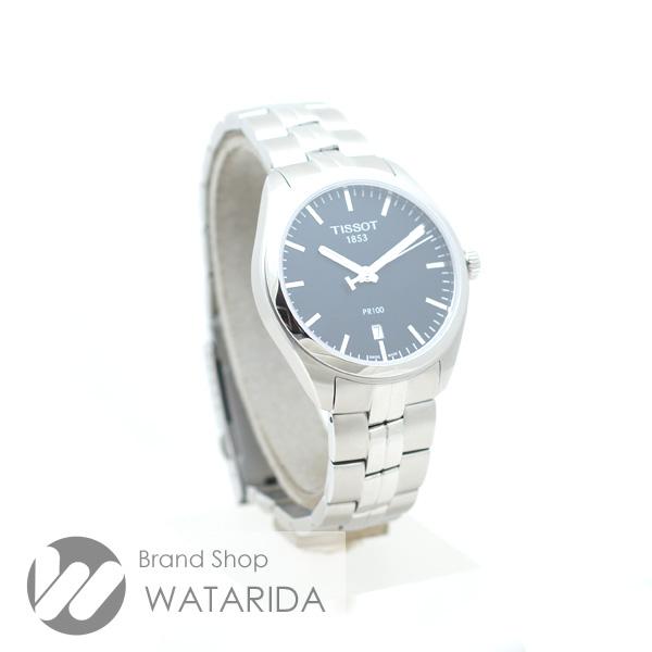 川崎の質屋【渡田質店】ティソ 腕時計 PR100 T101410 Qz SS 黒文字盤 箱・保付 【送料無料】 のご紹介です。