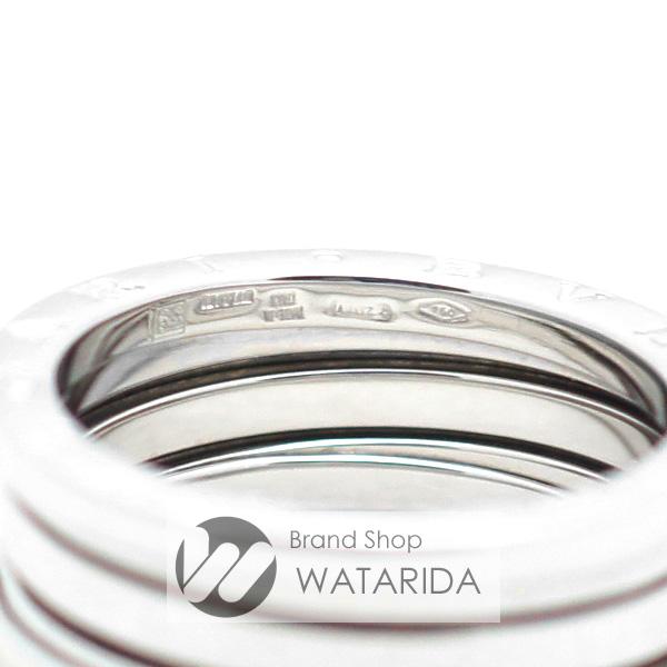 川崎の質屋【渡田質屋】ブルガリ 指輪 B.Zero1 ビーゼロワン 750WG 2バンド #59 国内サイズ:18号 【送料無料】のご紹介です。