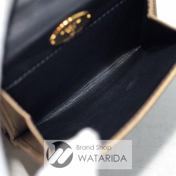 川崎の質屋【渡田質店】ロエベ 財布 ナッパレザー Wホックウォレット ゴールド 【送料無料】のご紹介です。