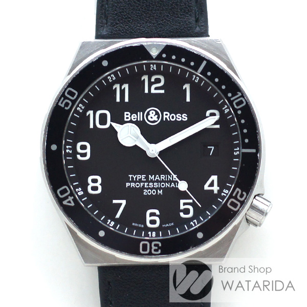 川崎の質屋【渡田質店】ベル&ロス 腕時計 タイプマリーン プロフェッショナル 410S Qz SS 社外ベルト 純正バックル 【送料無料】のご紹介です。