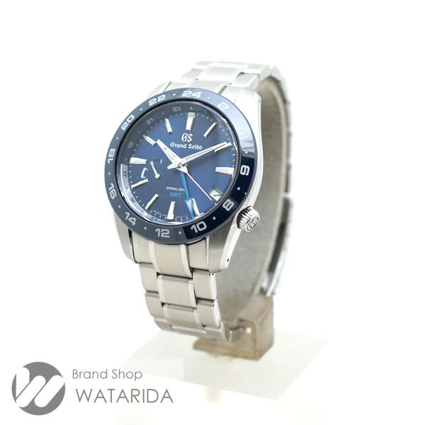 川崎の質屋【渡田質店】セイコー 腕時計 グランドセイコー SBGE255 9R66-0BB0 スプリングドライブ SS ブルー文字盤 未使用品 【送料無料】のご紹介です。