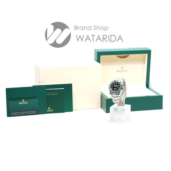 川崎の質屋【渡田質店】ロレックス 腕時計 サブマリーナ 126610LV グリーンサブ 黒文字盤 新ギャラ 2020年10月 箱・保付 未使用品 【送料無料】のご紹介です。