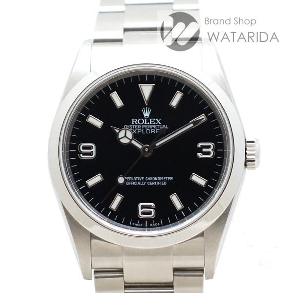 川崎の質屋【渡田質店】ロレックス 腕時計 エクスプローラー I 114270 Y番 SS 箱・保・タグ付 【送料無料】のご紹介です。