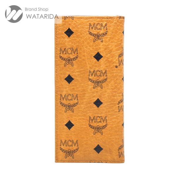 川崎の質屋【渡田質店】MCM 財布 ヴィンテージ 札入れ ロングウォレット キャメル PVC 【送料無料】のご紹介です。