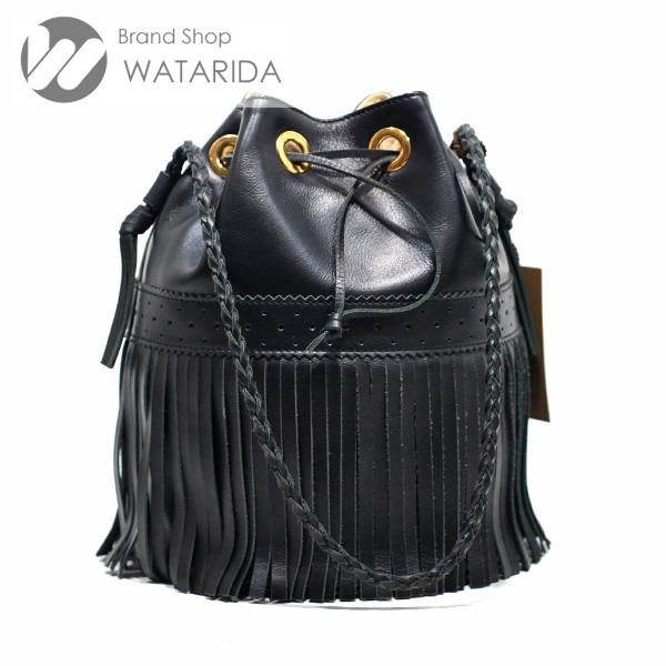 川崎の質屋【渡田質店】J&M DAVIDSON バッグ カーニバル L ブラック 保存袋付 【送料無料】のご紹介です。