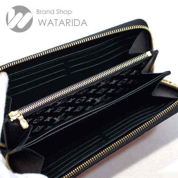 川崎の質屋 渡田質店 ルイヴィトン 財布 ジッピー・ウォレット M69436 LVクラフティ クレーム ルージュ 箱・袋付 未使用品 送料無料 のご紹介です。