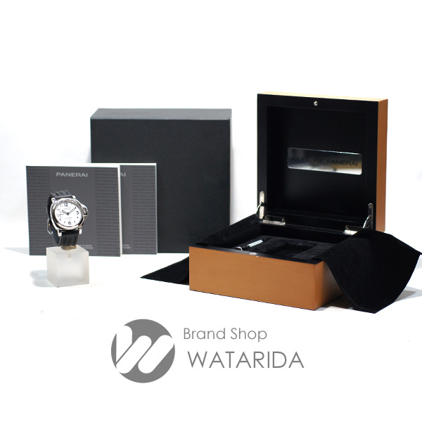 川崎の質屋 渡田質店 パネライ 腕時計 ルミノールマリーナ 8デイズ アッチャイオ PAM00563 Q番 44mm OP6937 SS 白文字盤 箱・保付 送料無料 のご紹介です。