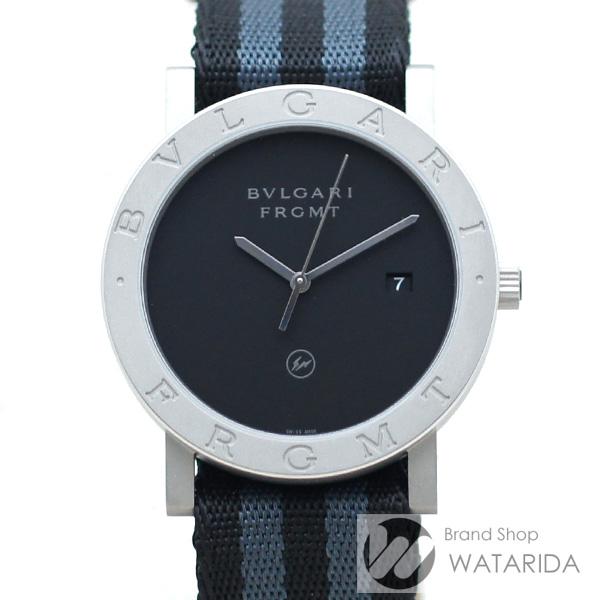 川崎の質屋 渡田質店 ブルガリ 腕時計 ブルガリ・ブルガリ フラグメントデザイン 103443 FRAGMENT x BVLGARI 箱・替えベルト付 未使用品 送料無料 のご紹介です。