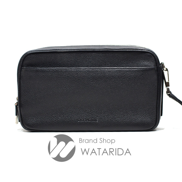 川崎の質屋 渡田質店 ディオール バッグ レザークラッチバッグ 1DSCL020 ブラック 保存袋・リストレット付 送料無料 のご紹介です。