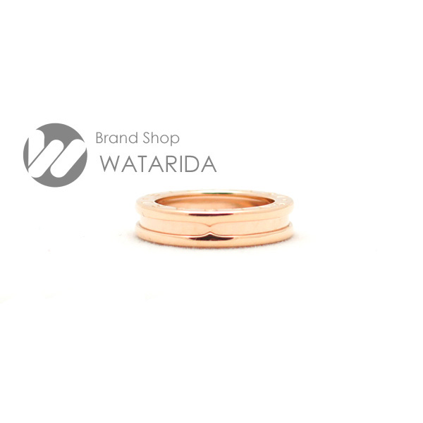 川崎の質屋 渡田質店ブルガリ 指輪 B-Zero1 1バンド XS 750PG ピンクゴールド 49 9号 送料無料 のご紹介です。