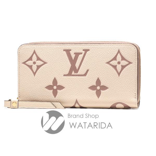 川崎の質屋 渡田質店 ルイヴィトン 財布 ジッピー・ウォレット M80116 バイカラー モノグラム・アンプラント 箱・袋付 未使用品 送料無料 のご紹介です。