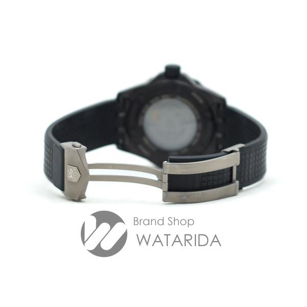 川崎の質屋 渡田質店 タグホイヤー 腕時計 アクアレーサー WAJ2180.FT6015 ブラック ラバー SS 箱・保付 送料無料 のご紹介です。