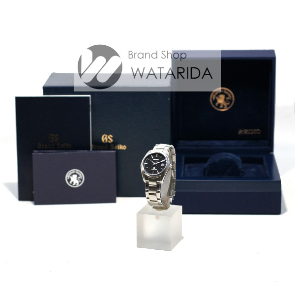 川崎の質屋 渡田質店 セイコー 腕時計 グランドセイコー SBGX061 9F62-0AB0 SS Qz 黒文字盤 箱・保付 送料無料 のご紹介です。