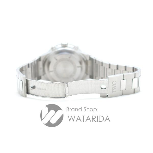 川崎の質屋 渡田質店 IWC 腕時計 GST クロノグラフ IW370708 3707-008 SS 黒文字盤 サカナリューズ 保証書・タグ工具付 送料無料 のご紹介です。