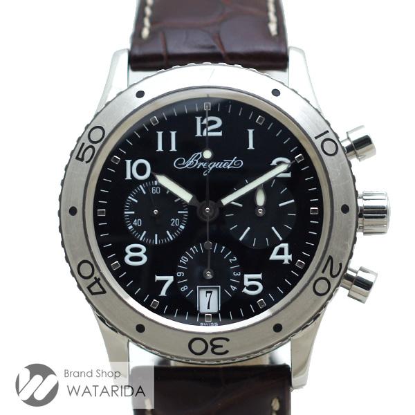 川崎の質屋 渡田質店 ブレゲ 腕時計 トランスアトランティック TypeXX 3820ST/H2/9W6 SS クロノグラフ レザーベルト Dバックル 箱・保付 【送料無料】 のご紹介です。