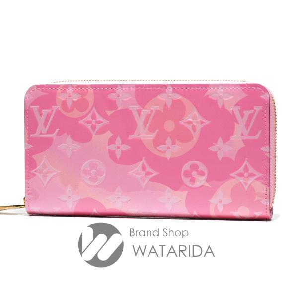 ルイヴィトン 財布 ジッピー・ウォレット M80309 ライトピンク モノグラム ヴェルニ バレンタイン 箱・袋付 日本限定品 未使用品 送料無料 のご紹介です。