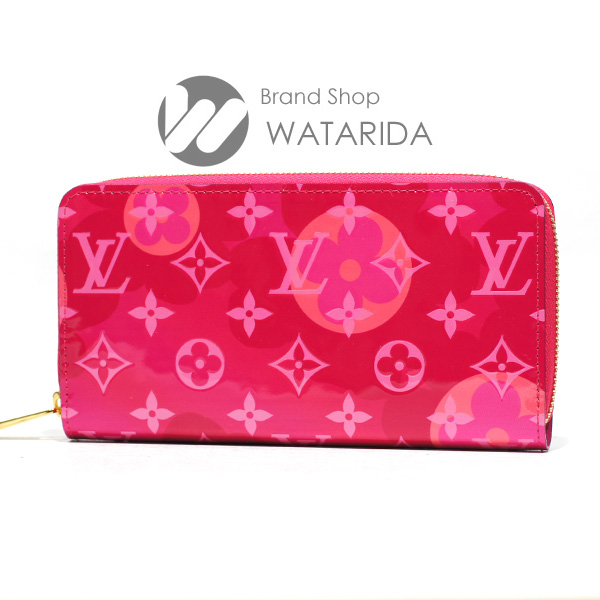 川崎の質屋 渡田質店 ルイヴィトン 財布 ジッピー・ウォレット M90585 フューシャ モノグラム ヴェル二 バレンタイン 箱・袋付 未使用品 送料無料  のご紹介です。