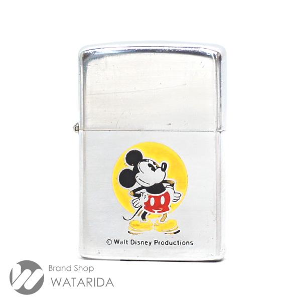 川崎の質屋 渡田質店 ジッポ Zippo オイルライター ミッキーマウス 1976年 ヴィンテージ 箱付 送料無料 のご紹介です。