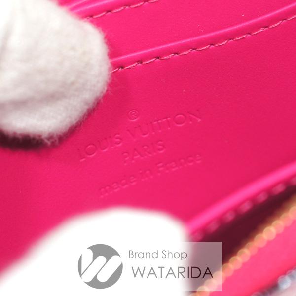 川崎の質屋 渡田質店 ルイヴィトン コインケース ジッピー・コインパース M90589 モノグラムヴェルニ フューシャ バレンタイン 2021 箱・袋付 未使用品 送料無料 のご紹介です。