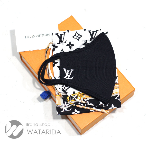 川崎の質屋 渡田質店 ルイヴィトン マスク マスク・マイユ M76748 ノワール 箱・袋付 未使用品 送料無料 のご紹介です。