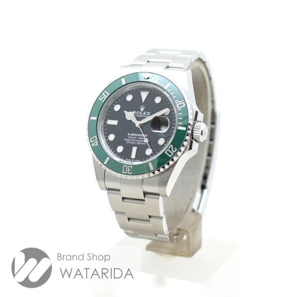 川崎の質屋 渡田質店 ロレックス 腕時計 サブマリーナ 126610LV グリーンサブ 黒文字盤 新ギャラ 2020年10月 箱・保付 未使用品 送料無料 のご紹介です。