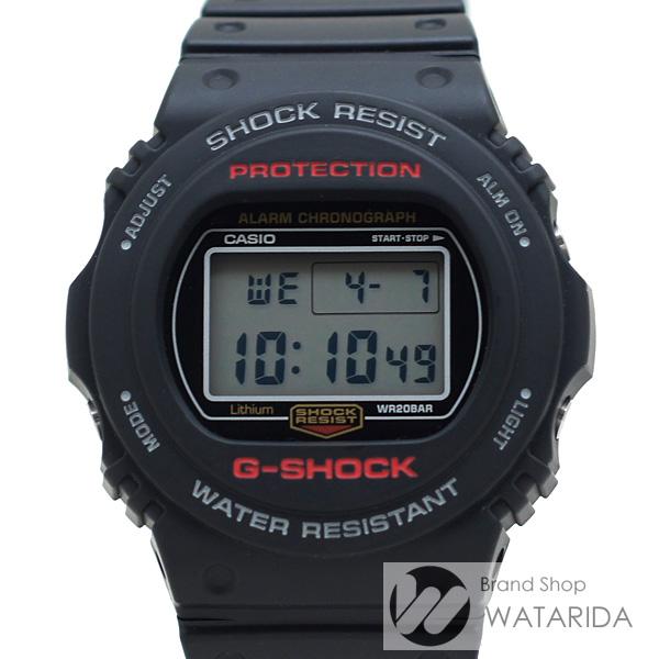 川崎の質屋 渡田質店 カシオ 腕時計 G-SHOCK DW-5750E-1JF ブラック ラバー 箱・保付 全国一律送料500円(税抜) のご紹介です。