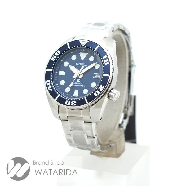 川崎の質屋 渡田質店 セイコー 腕時計 プロスペックス ダイバースキューバ SBDC033 6R15-00G0 SS ネイビー文字盤 スモウ SUMO タグ付 送料無料 のご紹介です。