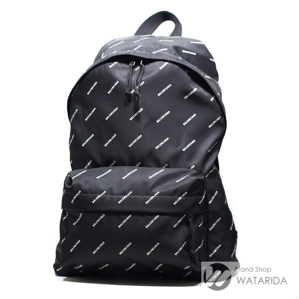 川崎の質屋 渡田質店 バレンシアガ バッグ エクスプローラー バックパック All Over Logo Scriptオールオーバー 459744 ブラック 保存袋・冊子付 送料無料 のご紹介です。