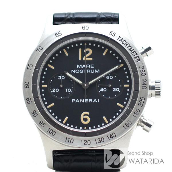 川崎の質屋 渡田質店 パネライ 腕時計 マーレノ ストゥルム PAM00008 OP6501 手巻き トリチウムインデックス SS 黒文字盤 内箱・保付 送料無料 のご紹介です。