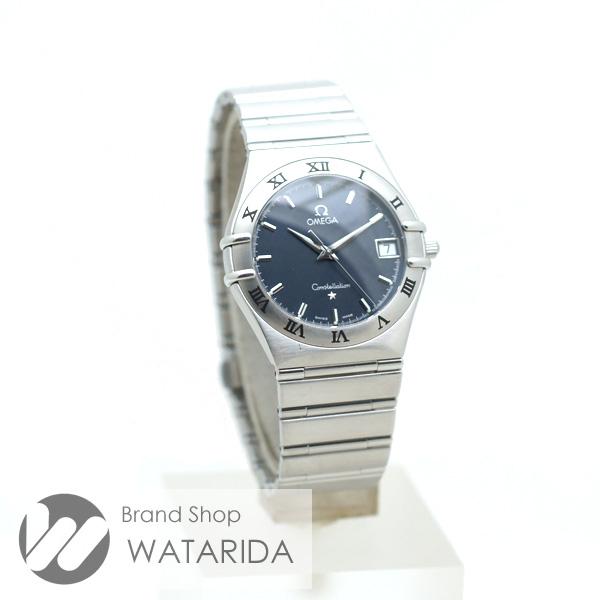 川崎の質屋 渡田質店 オメガ 腕時計 コンステレーション 1512.40 Qz ネイビー文字盤 SS 送料無料 のご紹介です。