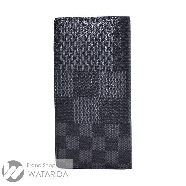 川崎の質屋 渡田質店 ルイヴィトン 財布 ポルトフォイユ・ブラザ NM N60436 ダミエ・グラフィット 3D キャンバス 箱・袋付 未使用品 送料無料  のご紹介です。