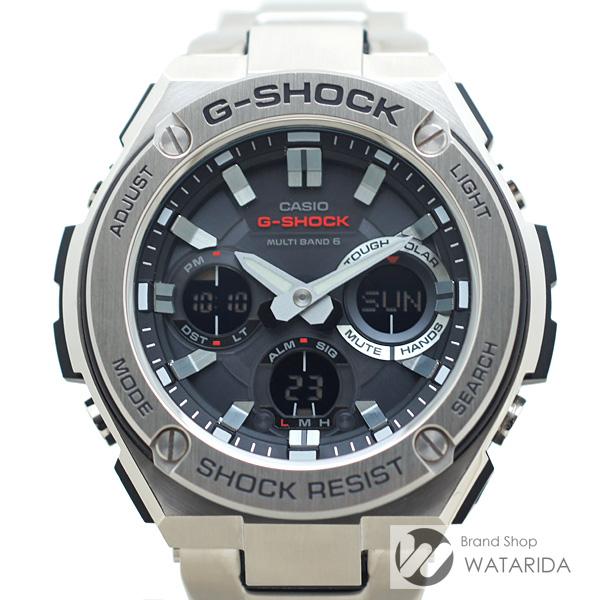 川崎の質屋 渡田質店 カシオ 腕時計 G-STEEL GST-W110D SS 箱・説明書付 送料無料 のご紹介です。