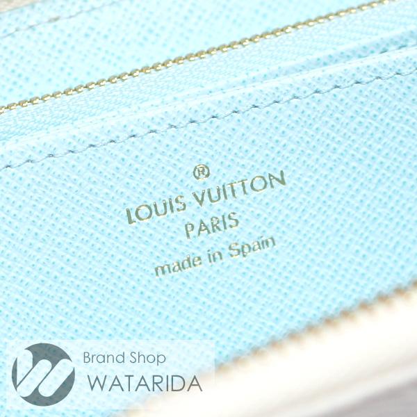 川崎の質屋 渡田質店 ルイヴィトン 財布 ジッピー・ウォレット M80360 ブルー バイ・ザ・プール By The Pool 未使用品 箱付 送料無料 のご紹介です。