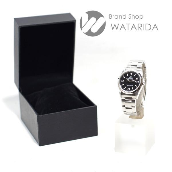 川崎の質屋 ロレックス 腕時計 エクスプローラー I 14270 W番 オール トリチウム シングルバックル SS 黒文字盤 送料無料  のご紹介です。