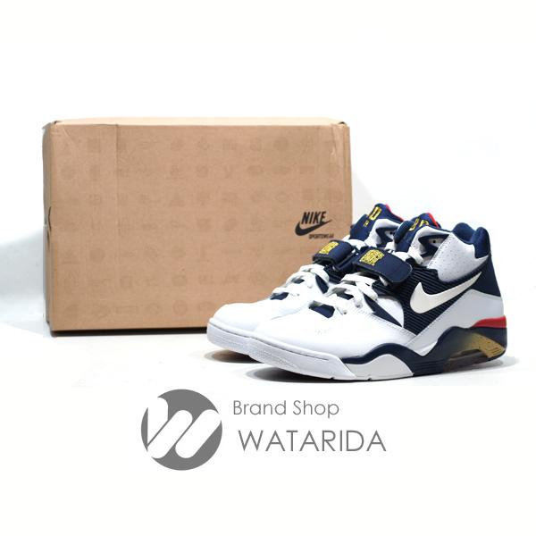 川崎の質屋 ナイキ NIKE スニーカー AIR FORCE 180 310095 100 オリンピック WHITE NAVY 箱付 送料無料 のご紹介です。