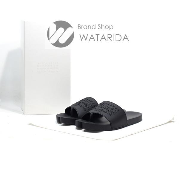 川崎の質屋 渡田質店  メゾン マルジェラ サンダル Tabi スライド サンダル 43 国内サイズ28cm S57WX0075 ブラック メンズ 箱・袋付 送料無料 のご紹介です。