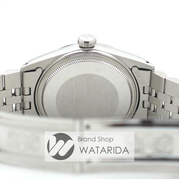 川崎の質屋 渡田質店 ロレックス ROLEX 腕時計 デイトジャスト 16014 7番台 黒文字盤 SS WG 2021年6月OH済 箱・国際サービス保証書付 送料無料 のご紹介です。