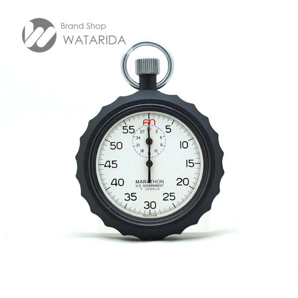 川崎の質屋 渡田質店 マラソン MARATHON シングルアクション ストップウォッチ 白文字盤 プラスチック 送料無料  のご紹介です。