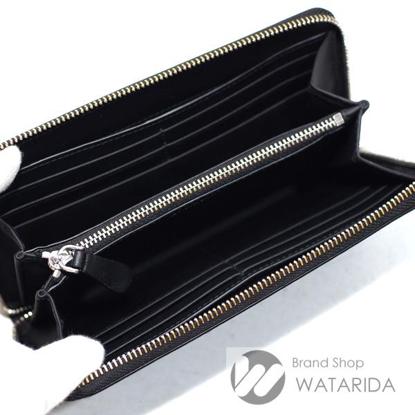 川崎の質屋 渡田質店 バーバリー 財布 ロンドンチェック&レザー ラウンドジップウォレット 80144801 ダークチャコール のご紹介です。