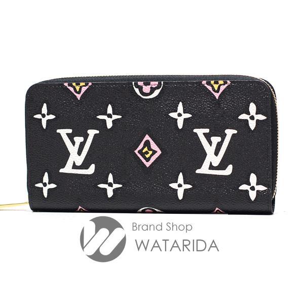 川崎の質屋 渡田質店 ルイヴィトン Louis Vuitton 長財布 ジッピー・ウォレット M80683 ワイルド・アット・ハート ノワール 箱・袋付 未使用品 送料無料 のご紹介です。