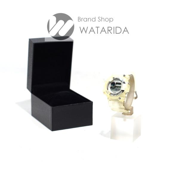 川崎の質屋 渡田質店 カシオ CASIO 腕時計 G-SHOCK FROGMAN フロッグマン DW-8250WC-7AT ラバー クリア W.C.C.S. 世界サンゴ礁保護協会 送料無料 のご紹介です。