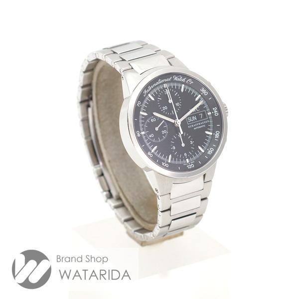川崎の質屋 IWC 腕時計 GST クロノグラフ IW370708 3707-008 SS 黒文字盤 サカナリューズ 保証書・タグ工具付 送料無料 のご紹介です。