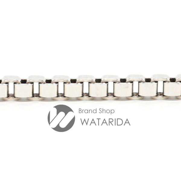 川崎の質屋 渡田質店 ティファニー Tiffany & Co. ヴェネチアン ブレスレット SV925 腕周り17.5cm レディース 送料無料 のご紹介です。