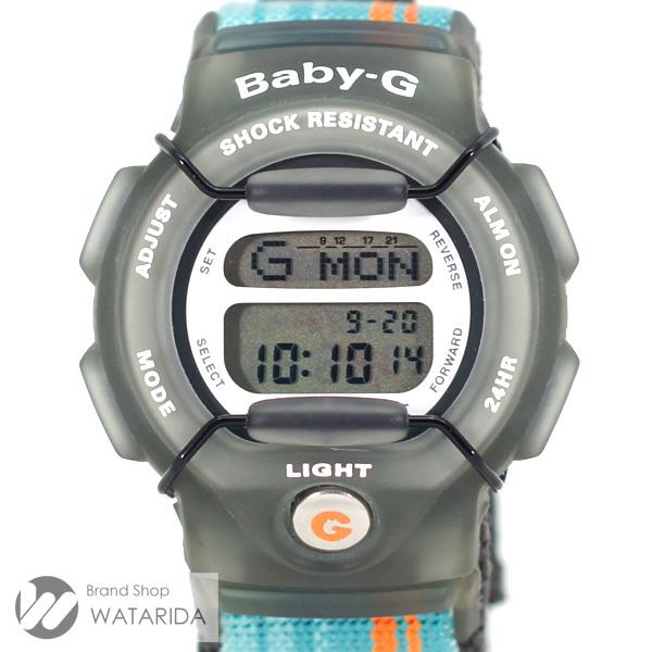 川崎の質屋 渡田質店 カシオ CASIO 腕時計 Baby-G ETHNO-G BG-350E-3T ラバー ナイロン ターコイズブルー オレンジ ケース・保証書付 全国一律送料500円(税抜) のご紹介です。