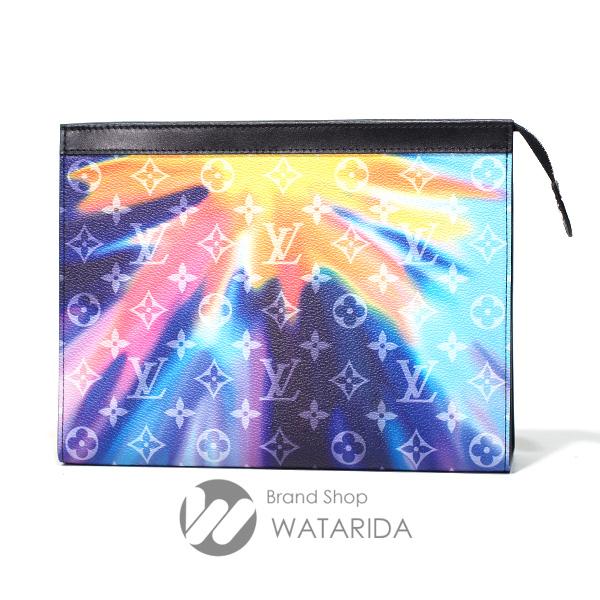 川崎の質屋 渡田質店 ルイヴィトン Louis Vuitton クラッチ バッグ ポシェット・ヴォワヤージュ MM M45941 モノグラム サンセット 箱・袋付 未使用品 送料無料 のご紹介です。