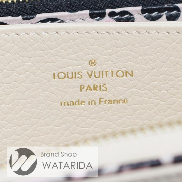 川崎の質屋 渡田質店 ルイヴィトン Louis Vuitton 財布 ジッピー・ウォレット M80685 クレーム アンプラントレザー 箱・袋付 未使用品 送料無料 のご紹介です。