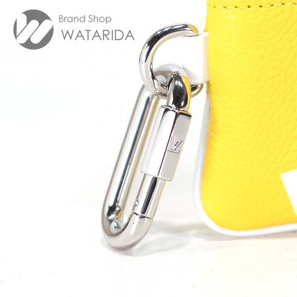 川崎の質屋 渡田質店 ルイヴィトン Louis Vuitton コインケース ポシェット・クレ M80845 イエロー LV エブリデイ 箱・袋付 送料無料 のご紹介です。